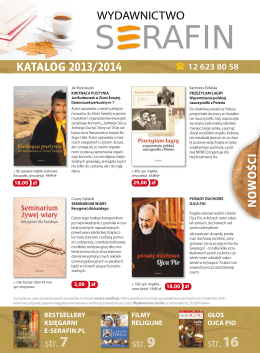 nowości katalog 2013/2014