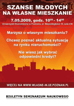 Biuletyn - Propertus - Uniwersytet Ekonomiczny w Poznaniu