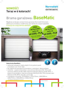 Brama garażowa: BaseMatic