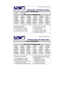 Rozklad jazdy PDF Ważny od 2014-04-14