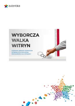 Zobacz pełny, bezpłatny raport Wyborcza Walka Witryn