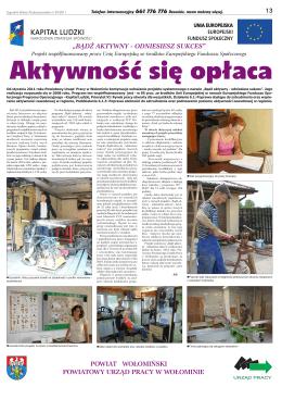 Pobierz - Powiatowy Urząd Pracy w Wołominie