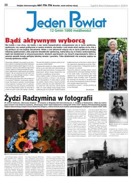 Żydzi Radzymina w fotografii