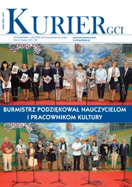burmistrz podziękował nauczycielom i pracownikom kultury