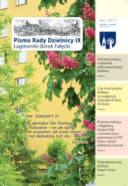 maj 2013 - Dzielnica IX Łagiewniki