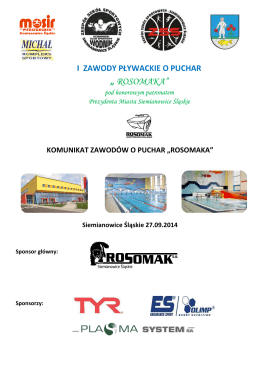""" ROSOMAKA"" - UKS Wodnik Siemianowice"