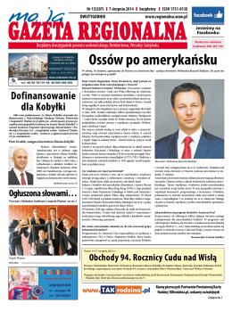 MGR15-2014 - Moja Gazeta Regionalna