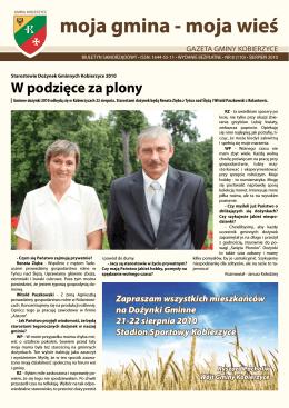 Sierpień - Gmina Kobierzyce