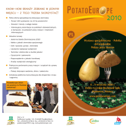 PotatoEurope 2010