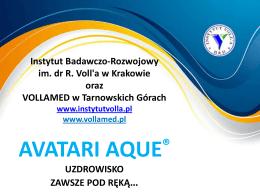 avatari aque - VOLLaMED - Śląskie Centrum Promocji Zdrowia im dr