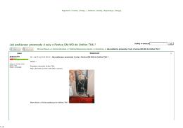 Jak podlaczyc przewody 4 zyly z Fenixa GM-WO