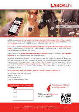 Aplikacja LABOKLIN