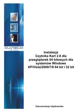 Instrukcja instalacji czytnika kart dla przeglądarek 64