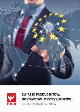związek producentów, dostawców i dystrybutorów. lista członków 2014