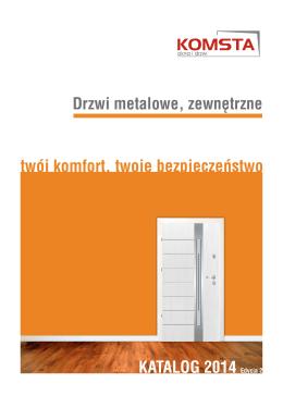 Drzwi metalowe, zewnętrzne KATALOG 2014 Edycja 2