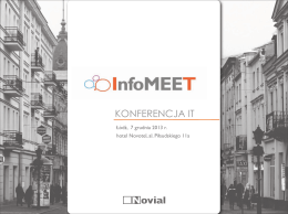 Katalog InfoMEET Łódź
