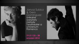 Janusz Subicz & Gero Gominguez