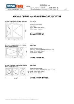 sprawdź - OKNOMAX
