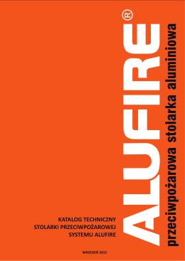 katalog techniczny stolarki przeciwpożarowej systemu alufire