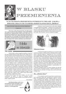 cmolas 12 06.indd - Parafia Przemienienia Pańskiego w Cmolasie