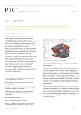 Creo™ Parametric