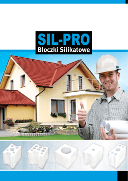 SIL-PRO bloczki silikatowe