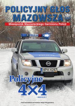 Miesięcznik Mazowieckiego Garnizonu Policji