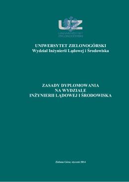 zasady realizacji prac dyplomowych