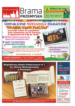 Brama Przemyska 17 czerwca 2014