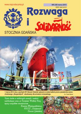 rozwaga2-2013 - Solidarność Stoczni Gdańskiej