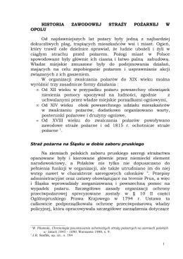 Rozdział I - KM PSP w Opolu