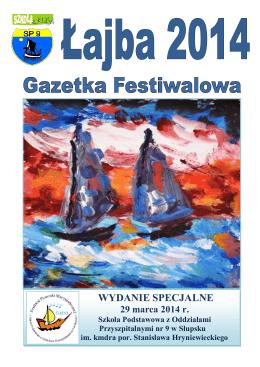 """Festiwal Piosenki Marynistycznej """"Łajba 2014"""""""