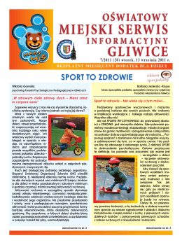 7/2011 - Gliwicki Ośrodek Metodyczny