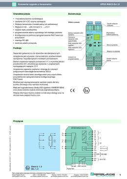 KFD2-WAC2-Ex1.D Konwerter sygnału z