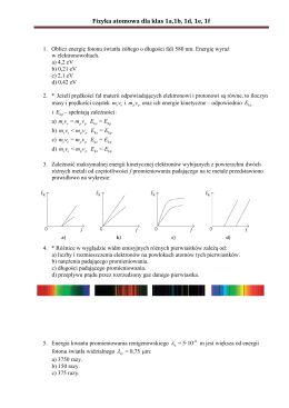 K.Iskra-Kiecana - Fizyka atomowa dla klas 1a,1b, 1d, 1e, 1f