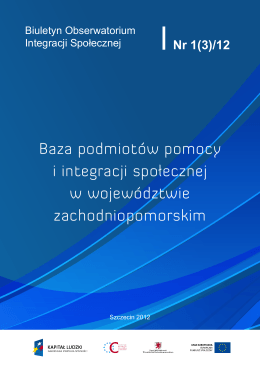 Baza podmiotów pomocy i integracji społecznej w województwie