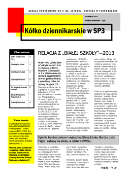 pobierz *.pdf - Szkoła Podstawowa Nr 3 im. Alfreda Freyera w