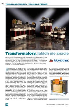 Transformatory, jakich nie znacie