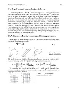 Obliczanie mocy strat Pstr w IGBT i diodzie jednego z łączników