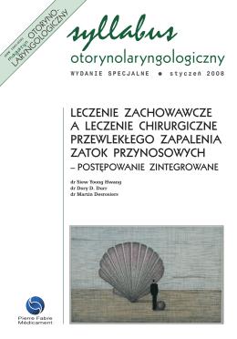 pobierz pdf - Magazyn Otorynolaryngologiczny