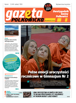 PoLKowIcKa PoLKo - Urząd Gminy Polkowice