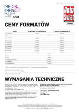 Auto Świat - MediaImpact.pl