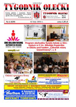 Program obchodów Święta Szkoły w Gim- nazjum nr 2