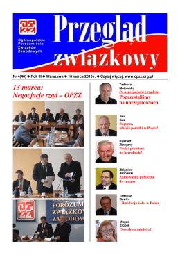 13 marca: - opzz.info.pl