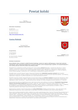 Powiat kolski