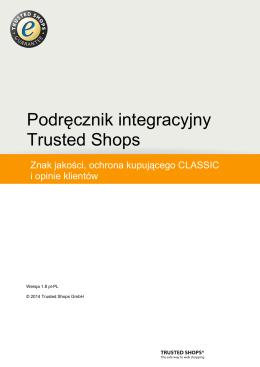 Podręcznik integracyjny Trusted Shops