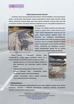Badania dróg