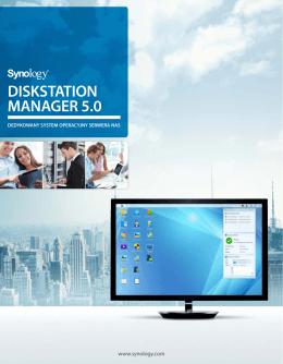 Opis systemu zarządzania DSM 5.0