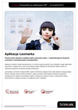 Aplikacje Lexmarka