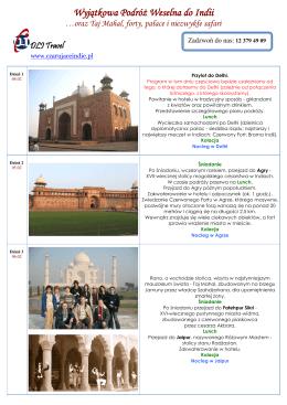 Kliknij tutaj - Czarujące Indie